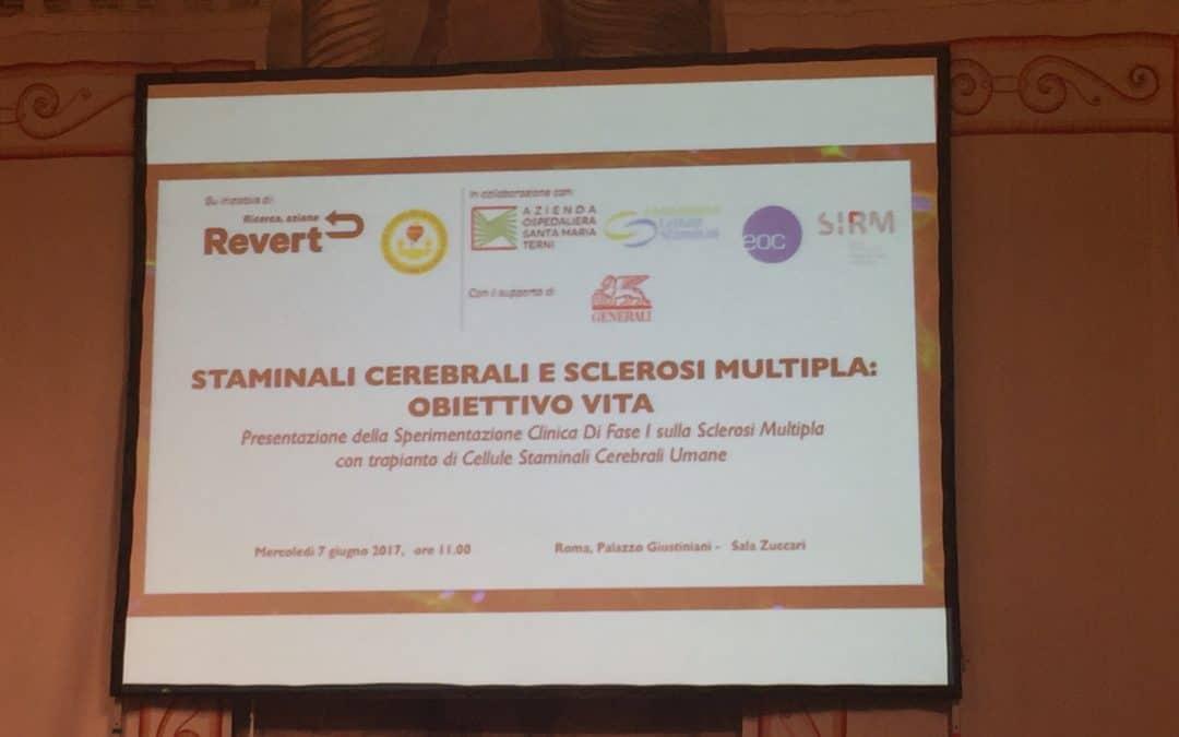 Comunicato Stampa_Trial Clinico Sclerosi Multipla