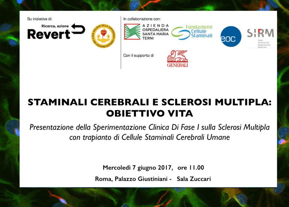 Programma Conferenza Stampa Sclerosi Multipla
