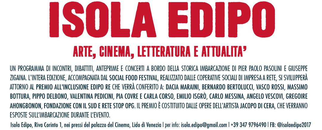 Premio Edipo Re alla Mostra del Cinema Venezia